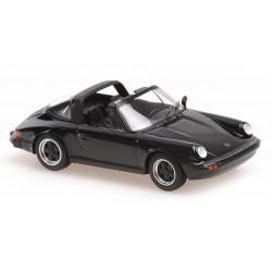 Porsche 911 Targa 1977 Black Minichamps 940061260