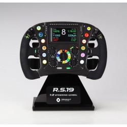 Volant Steering Wheel 1/2 Renault RS19 F1 2019 Zmodels ZMD9900101