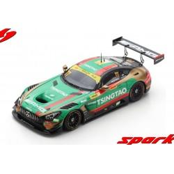 Mercedes AMG GT3 77 FIA GT World Cup Macau 2019 Edoardo Mortara Spark SA214