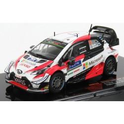 Toyota Yaris WRC 8 Rallye de Finlande 2019 Tanak Jarveoja IXO RAM723