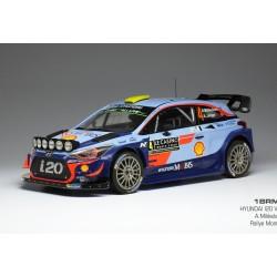 Hyundai i20 WRC 4 Rallye Monte Carlo 2018 Mikkelsen Jaeger IXO 18RMC030A