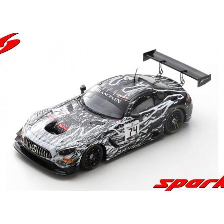 Mercedes AMG GT3 74 24 Heures de Spa Francorchamps 2019 Spark SB268