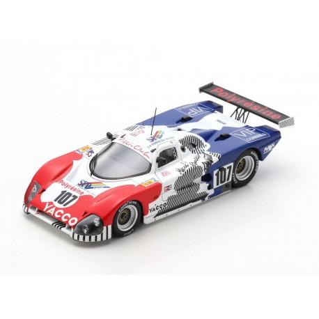 Spice 88C 107 24 Heures du Mans 1988 Spark S4768