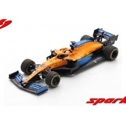 McLaren Renault MCL35 55 F1 5ème Autriche 2020 Carlos Sainz Jr Spark S6470