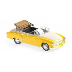 Watburg A311 Cabriolet 1958 Yellow White Minichamps 940015931