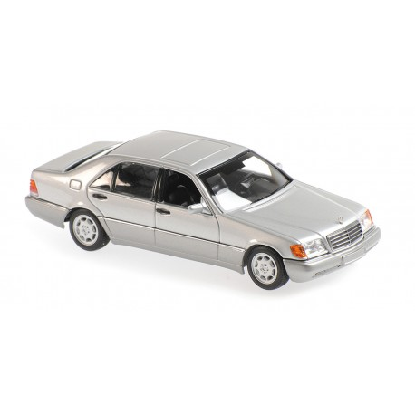 Mercedes Benz 600 Sel W140 1991 Silver Metallic Minichamps 940035401