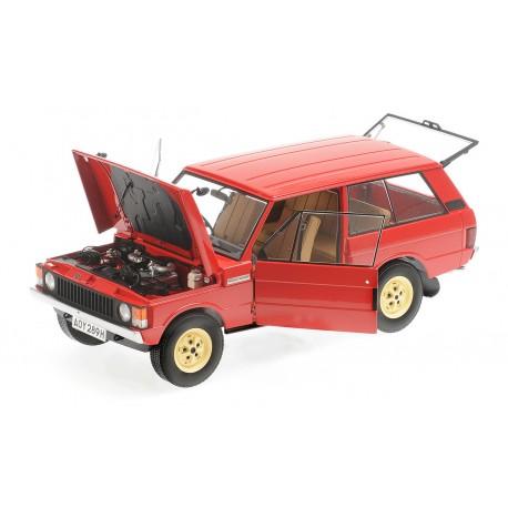 Range Rover Velar First Prototype 1969 Red Minichamps ALM810112