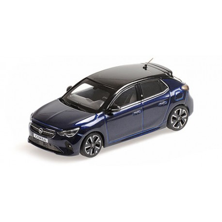 Opel Corsa E 2019 Blue Metallic Minichamps 410049000