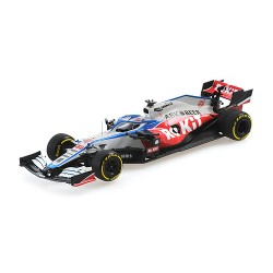 Williams Mercedes FW43 6 F1 Launch Spec 2020 Nicholas Latifi Minichamps 417200006