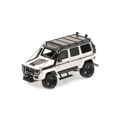 Brabus 550 Adventure 4x4 based on G500 4x4 2017 White Minichamps 437037162