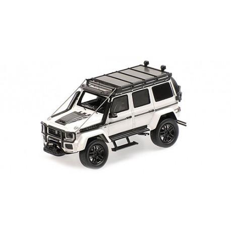 Brabus 550 Adventure 4x4 based on G500 4x4 2017 White Minichamps 437037162