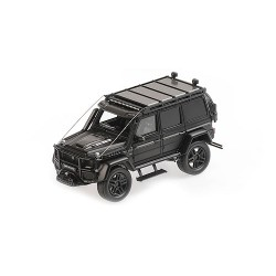 Brabus 550 Adventure 4x4 based on G500 4x4 2017 Matt Black Minichamps 437037164
