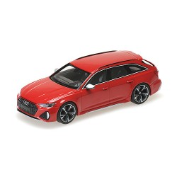 Audi RS6 Avant 2019 Red Metallic Minichamps 410018010