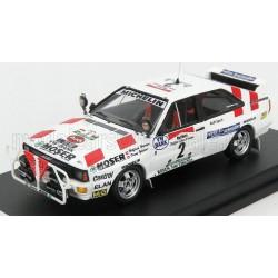 Audi Quattro 2 Rallye de Bandama 1986 Wiedner Zehetner Trofeu TRORRCI01