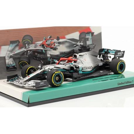 Mercedes F1 W10 EQ Power+ F1 Monaco 2019 Lewis Hamilton Minichamps 417190644