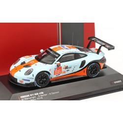 Porsche 911 RSR 86 24 Heures du Mans 2018 IXO LE43025