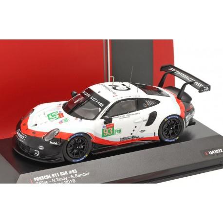 Porsche 911 RSR 93 24 Heures du Mans 2018 IXO LE43022
