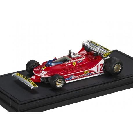 Ferrari 312 T4 Short Tail 12 F1 Monaco 1979 Gilles Villeneuve GP Replicas GP43012B