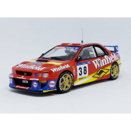 Subaru Impreza WRC 38 Rallye de Catalogne 1998 Verreydt Elst Trofeu TRORRES02