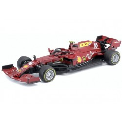 Ferrari SF1000 16 F1 Mugello 2020 Charles Leclerc 1000GP Scuderia Ferrari Bburago BBU18-36823LM