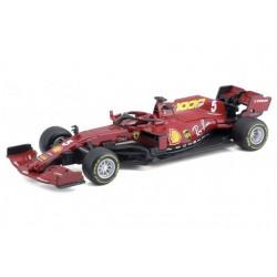 Ferrari SF1000 5 F1 Mugello 2020 Sebastian Vettel 1000GP Scuderia Ferrari Bburago BBU18-36823VM