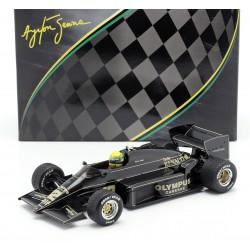 Lotus Renault 97T F1 Winner portugal 1985 Ayrton Senna IXO SENR18001