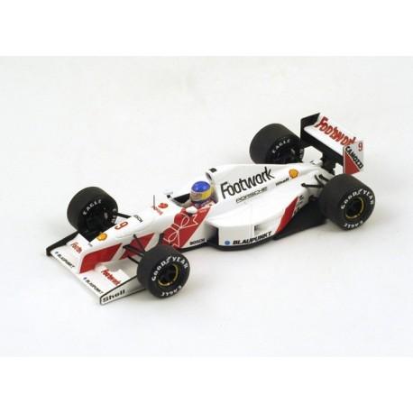Footwork FA12 F1 Monaco 1991 Michele Alboreto Spark S3980