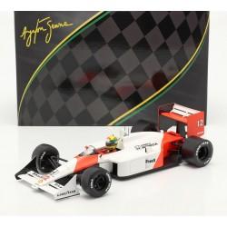 McLaren Honda MP4/4 F1 World Champion Japon 1988 Ayrton Senna IXO SENR18002