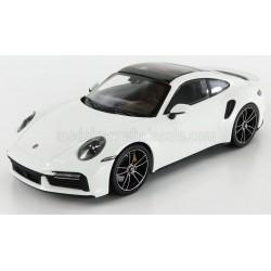 Porsche 911 Type 992 Turbo S Coupe 2020 White Minichamps 153069078