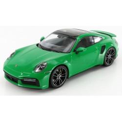 Porsche 911 Type 992 Turbo S Coupe 2020 Python Green Minichamps 153069077