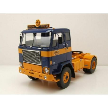 Volvo F88 1971 Dark Blue Yellow MCG MCG18140