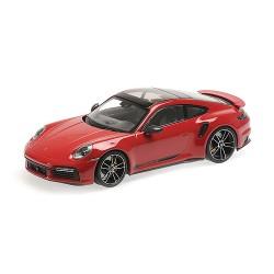 Porsche 911 Type 992 Turbo S 2020 Red Minichamps 155069070