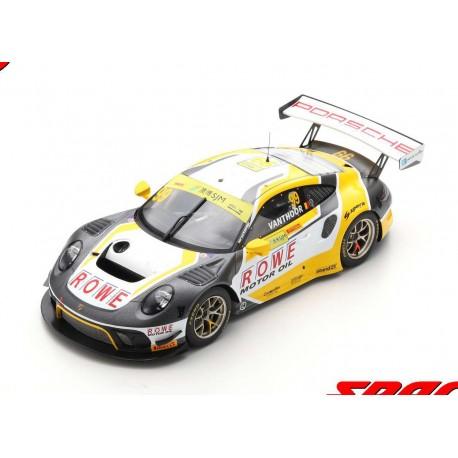 Porsche 911 GT3R 99 FIA GT World Cup Macau 2019 Laurens Vanthoor Spark 18SA023
