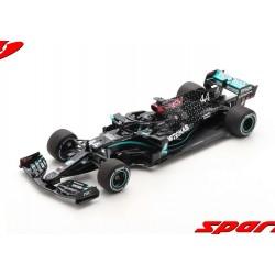 Mercedes F1 W11 EQ Performance 44 F1 Winner Silverstone 2020 Lewis Hamilton Spark 18S483