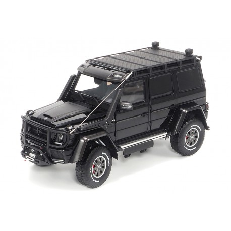 Brabus 500 Mercedes G500 4x4 Obsidian Black Almost Real ALM860303