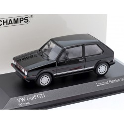 Volkswagen Golf GTI 1983 Black Minichamps 943055174