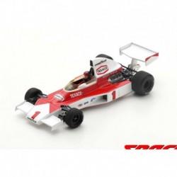 McLaren M23 1 F1 Winner Angleterre 1975 Emerson Fittipaldi Spark S5743