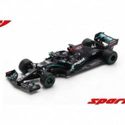 Mercedes F1 W11 EQ Performance 44 F1 Winner Turquie World Champion 2020 Lewis Hamilton with pitboard Spark S6488