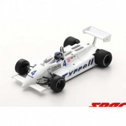 Tyrrell 011 4 F1 Pays Bas 1981 Michele Alboreto Spark S7281