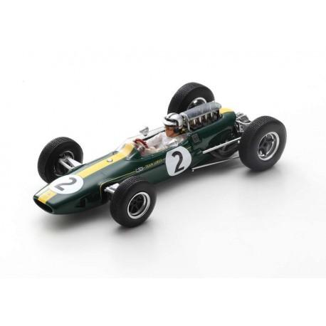 Lotus 33 2 F1 France 1966 Pedro Rodriguez Spark S7294