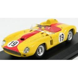 Ferrari 290MM Spider Chassis 0606 19 Grand Prix du Portugal 1957 4ème Alain de Changy Art Model ART389