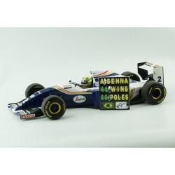 Pitboard 1/18 - Ayrton Senna - PBSEN001