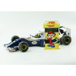 Pitboard 1/18 - Ayrton Senna - PBSEN002