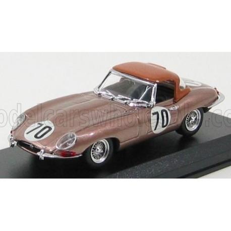 Jaguar E-Type Spider Soft-Top 70 Nassau 1961 Tom Fleming Best Model 9448