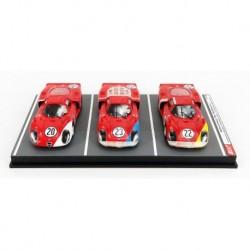 Alfa Romeo 33.2 set 3 cars 24 Hours of Daytona 1968 Best Model 9794/D