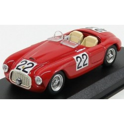 Ferrari 166MM 2.0L V12 Spider 22 24 Heures du Mans 1949 Art Model ART011/2