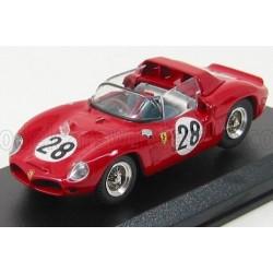 Ferrari Dino 246SP Spider 2.4L V6 28 24 Heures du Mans 1962 Art Model ART042