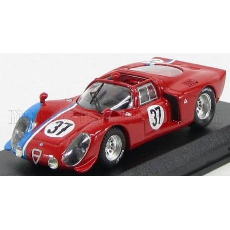 Alfa Romeo 33.2 37 24 Heures du Mans 1968 Best Model 9551