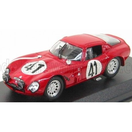 Alfa Romeo TZ2 41 24 Heures Le Mans 1965 Best Model 9174
