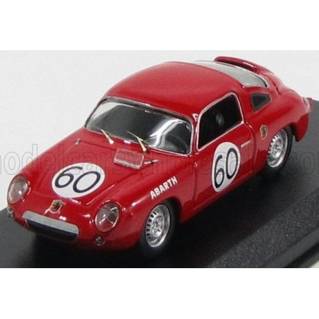 Fiat Abarth 700S Coupe 60 24 Heures du Mans 1960 Best Model 9511